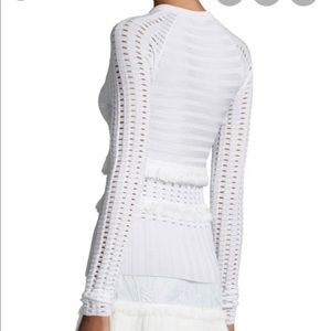 Jason Wu Fringed Sweater